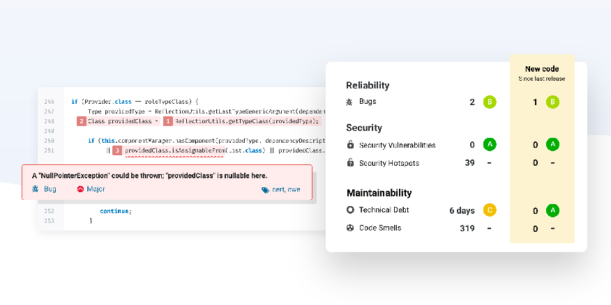 Code Quality and Security | SonarQube